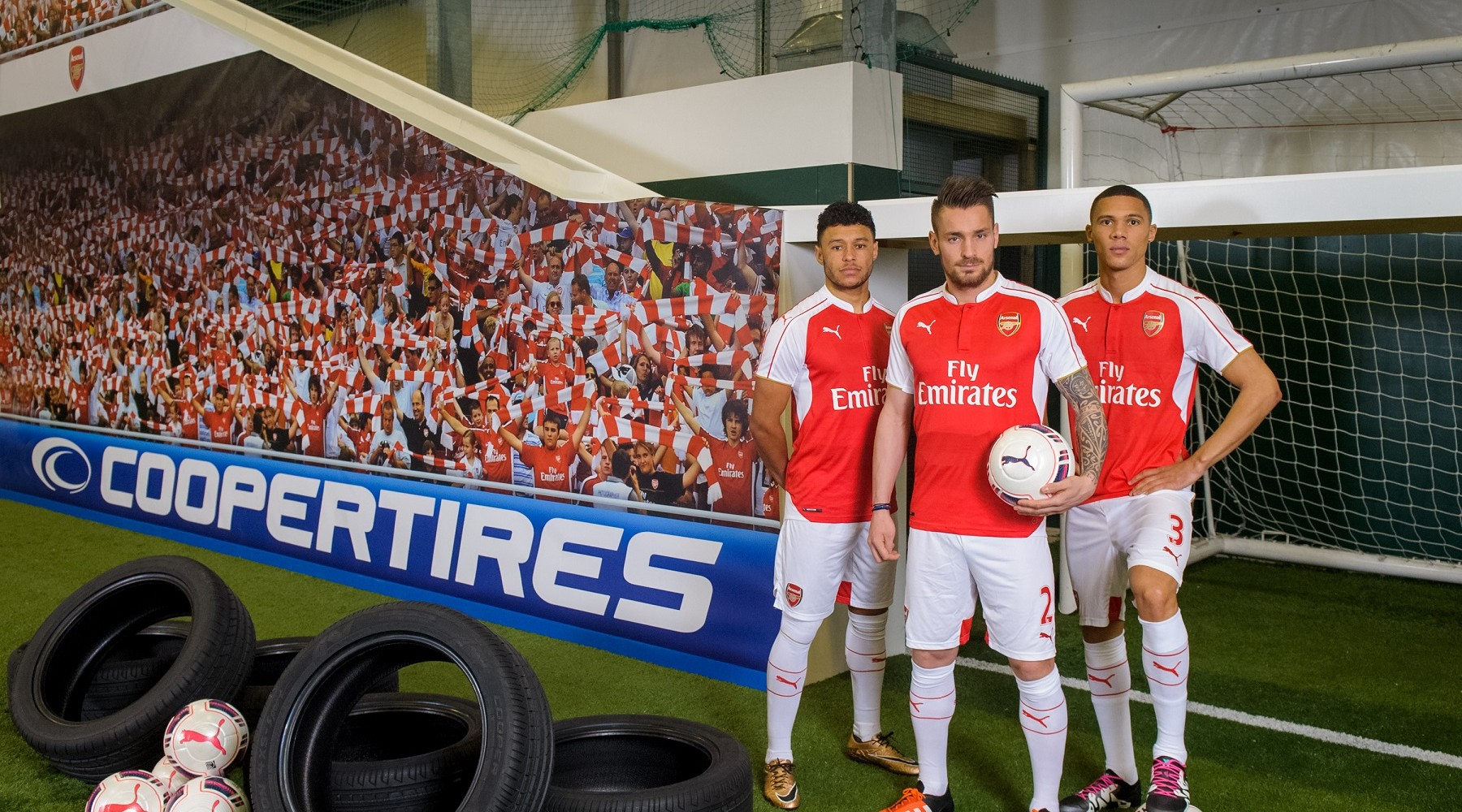 Got Footie Shooting Skills? Arsenal Players Get Theirs Tested To The Limit