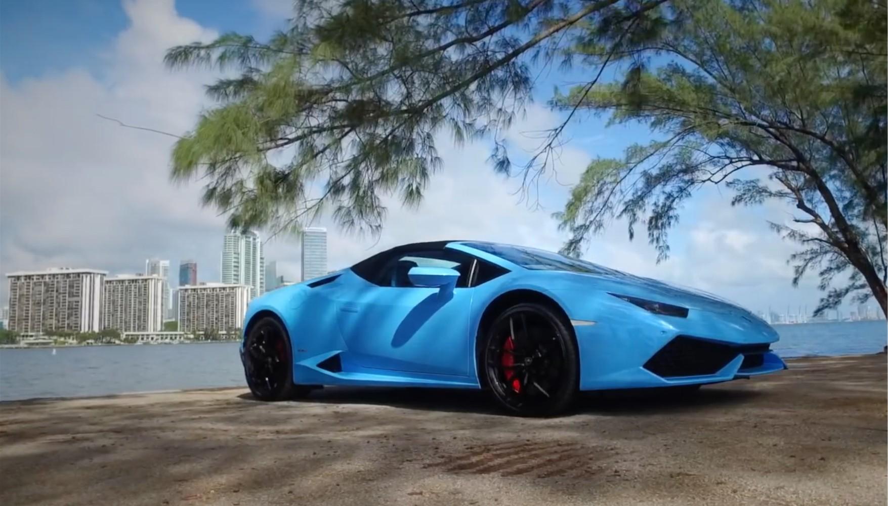 Lamborghini Huracán shown off in 360° video