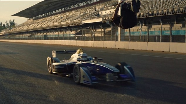Would You Backflip Over A Speeding Formula E Car? This Guy Has Done Just That