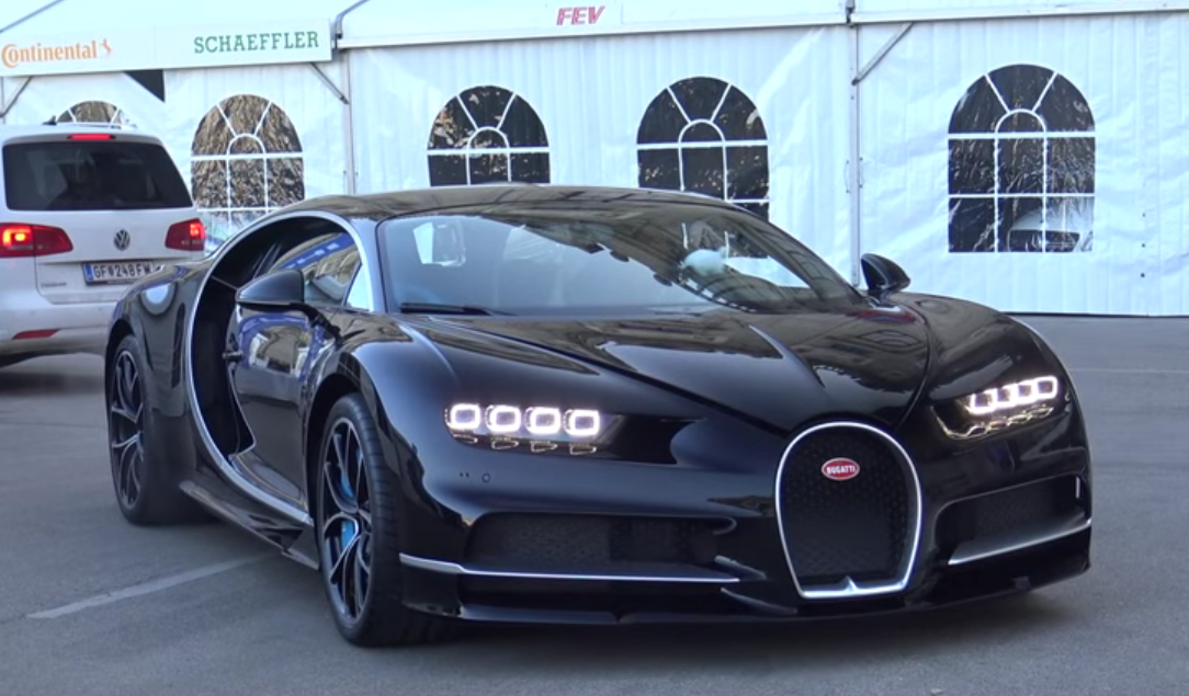 New Bugatti Rolls Off Delivery Truck In Vienna, We Like The Look Of It