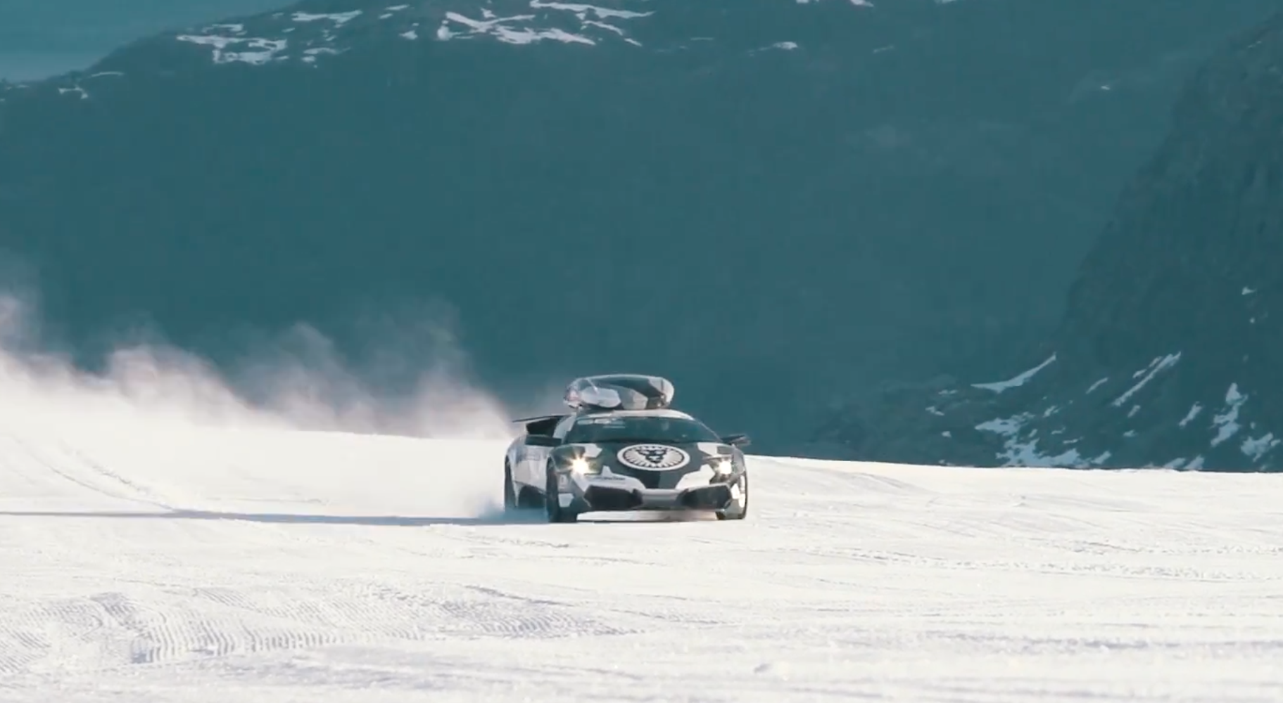 100 Koenigsegg Snow Land Rover Range Rover In Snow