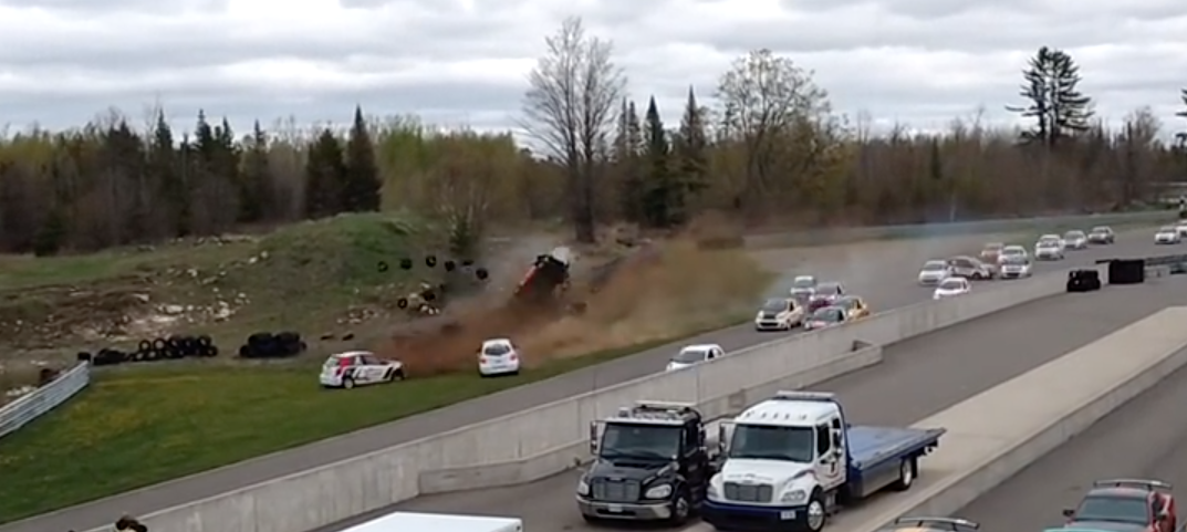 Nissan Micra Cup Race Goes Downhill Quickly