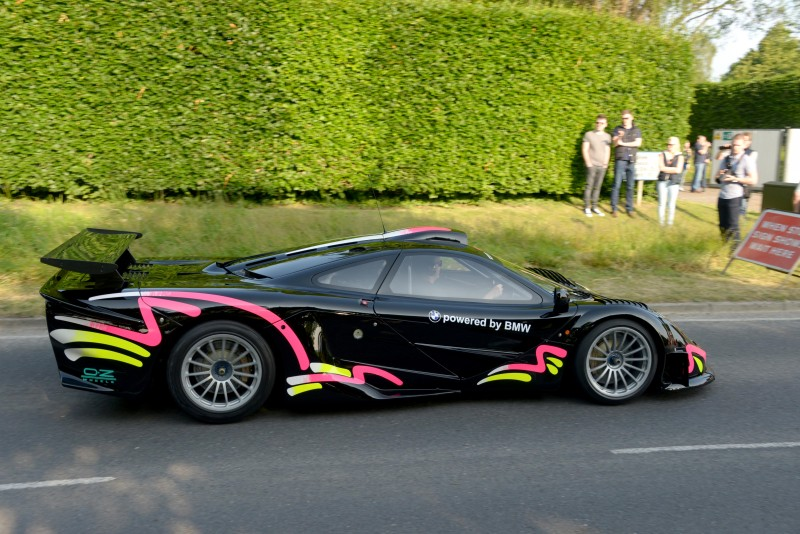 Pictured today 5/6/16 is the Goodwood Breakfast Club at the Goodwood Motor Circuit in West Sussex, with a preview for the 2016 Festival of Speed in a few weeks, with an array of powerful machines, including a variety of supercars. The Breakfast club is a free event on the first Sunday of each month, starting at 7am for early birds who want some quality food and to see some expensive cars up close. Over 10,000 people attended the event, peaking at around 10am with thousands of bacon rolls sold. Please credit: Paul Jacobs/pictureexclusive.com Standard reproduction rates apply, contact Paul Jacobs to arrange payment - 07923 866166, pictureexclusive@gmail.com