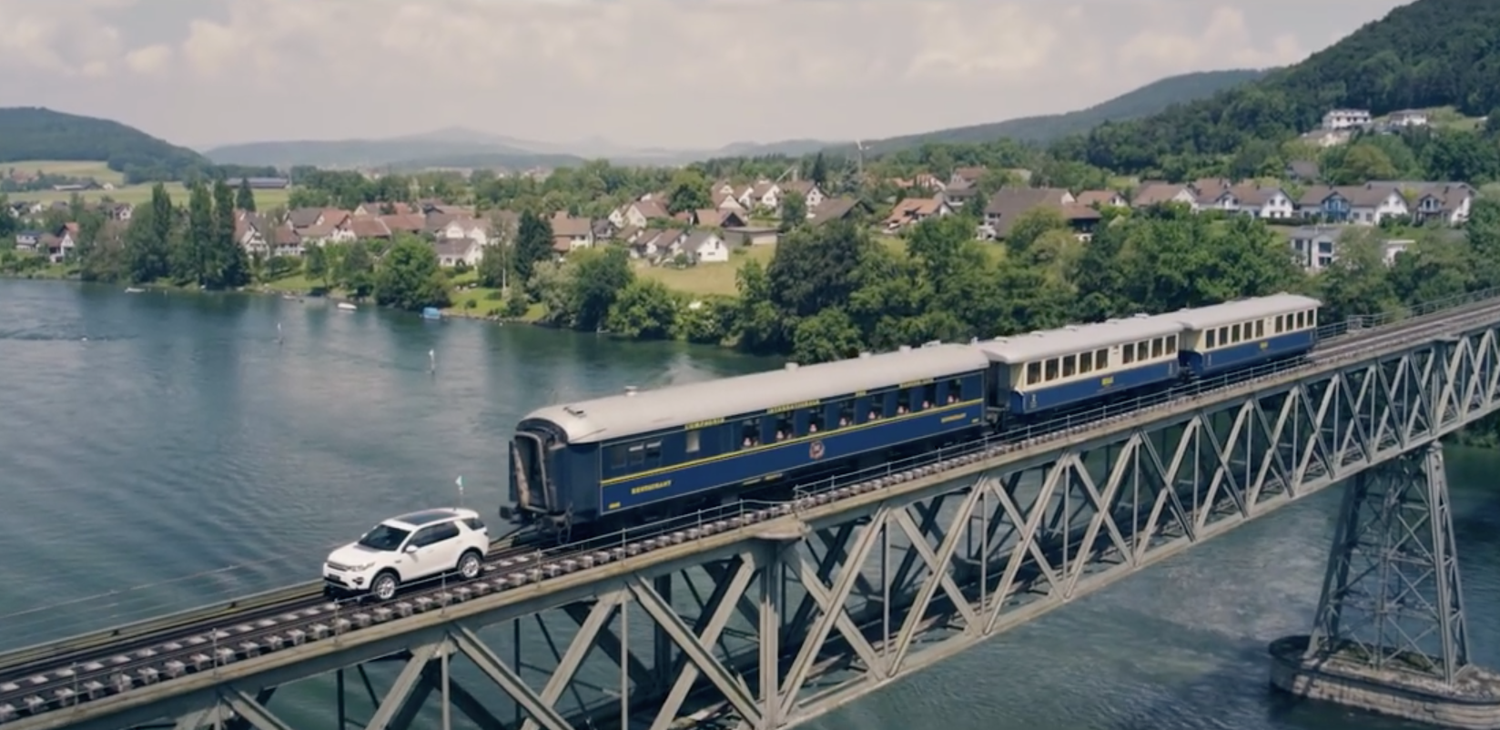 Discovery Sport Pulls Like A Train… By Actually Pulling A Train