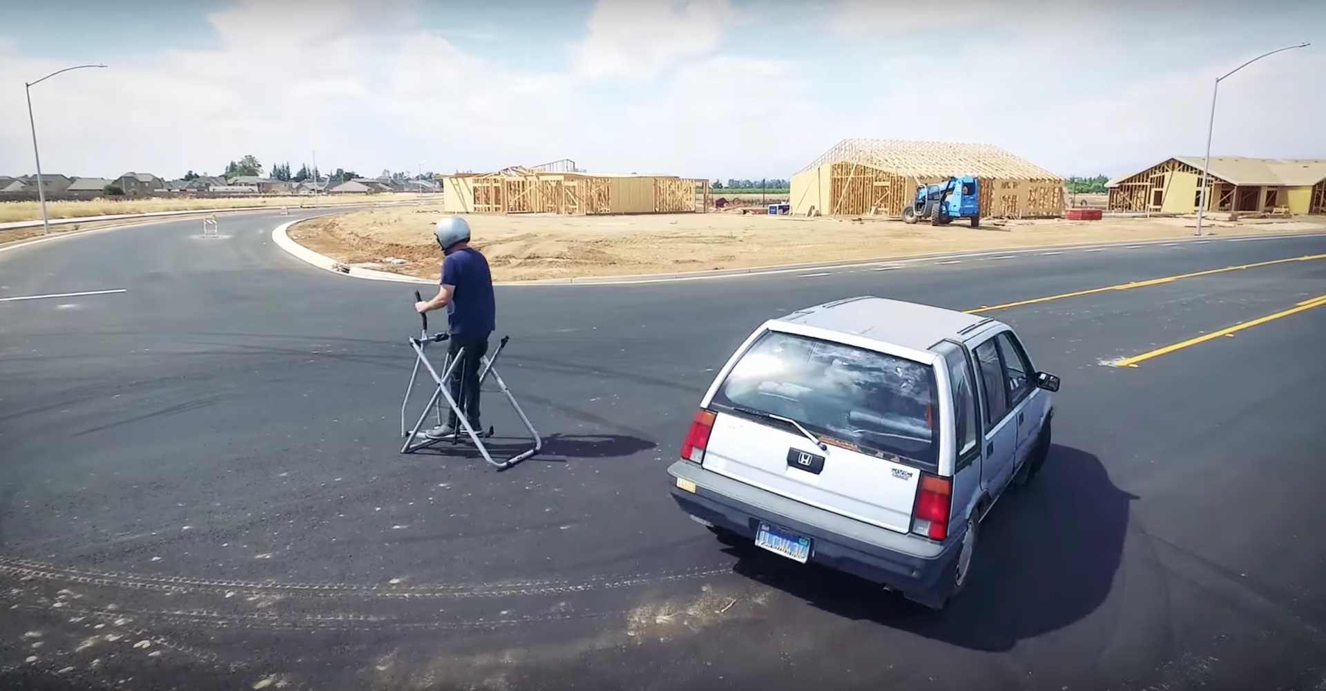 Ken Block's Gymkhana Mocked By World's Coolest Honda Civic