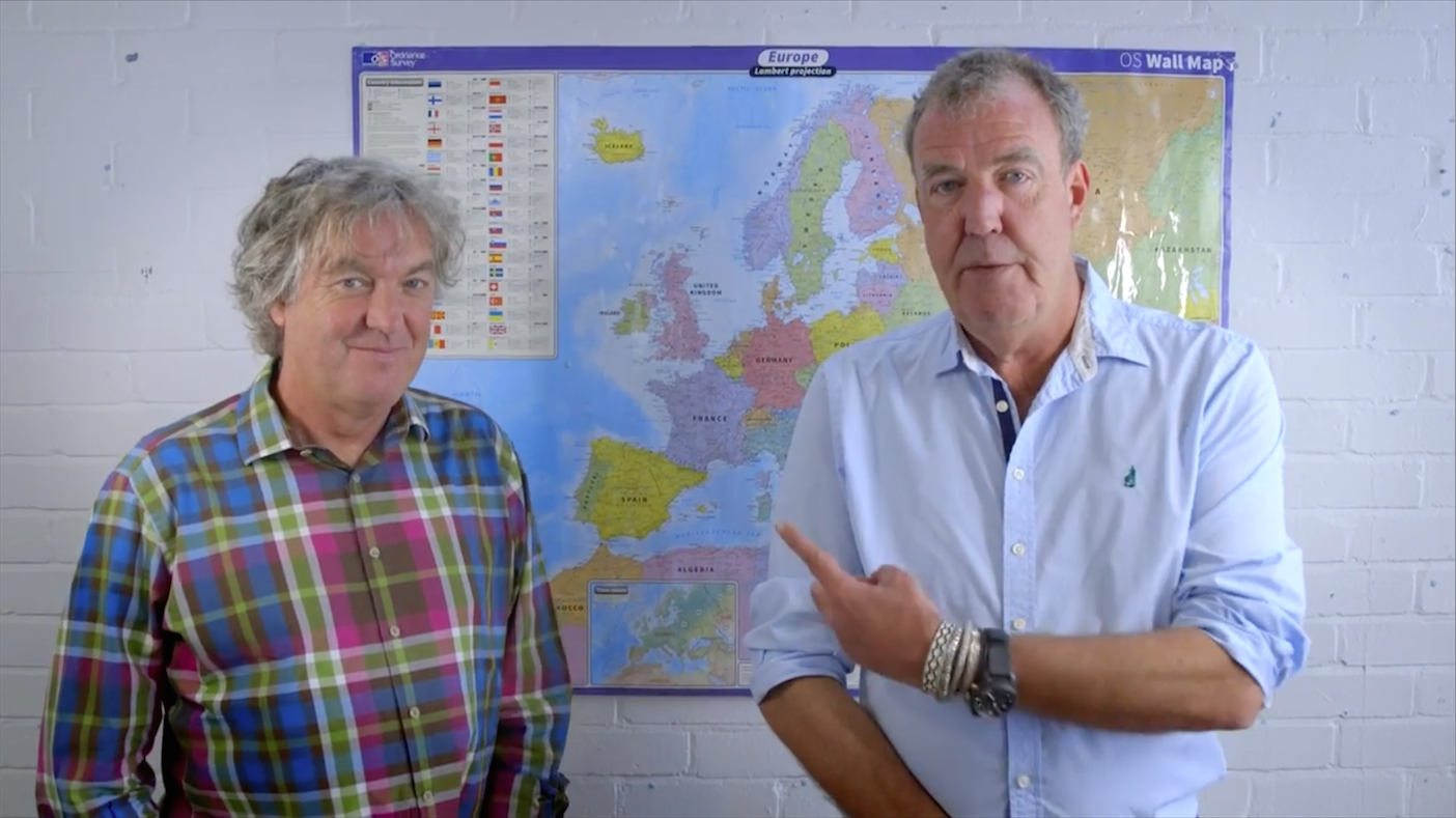 Clarkson And May Share Opinion On EU Referendum, Seem Eerily Civilised