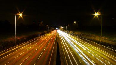 M25 at night