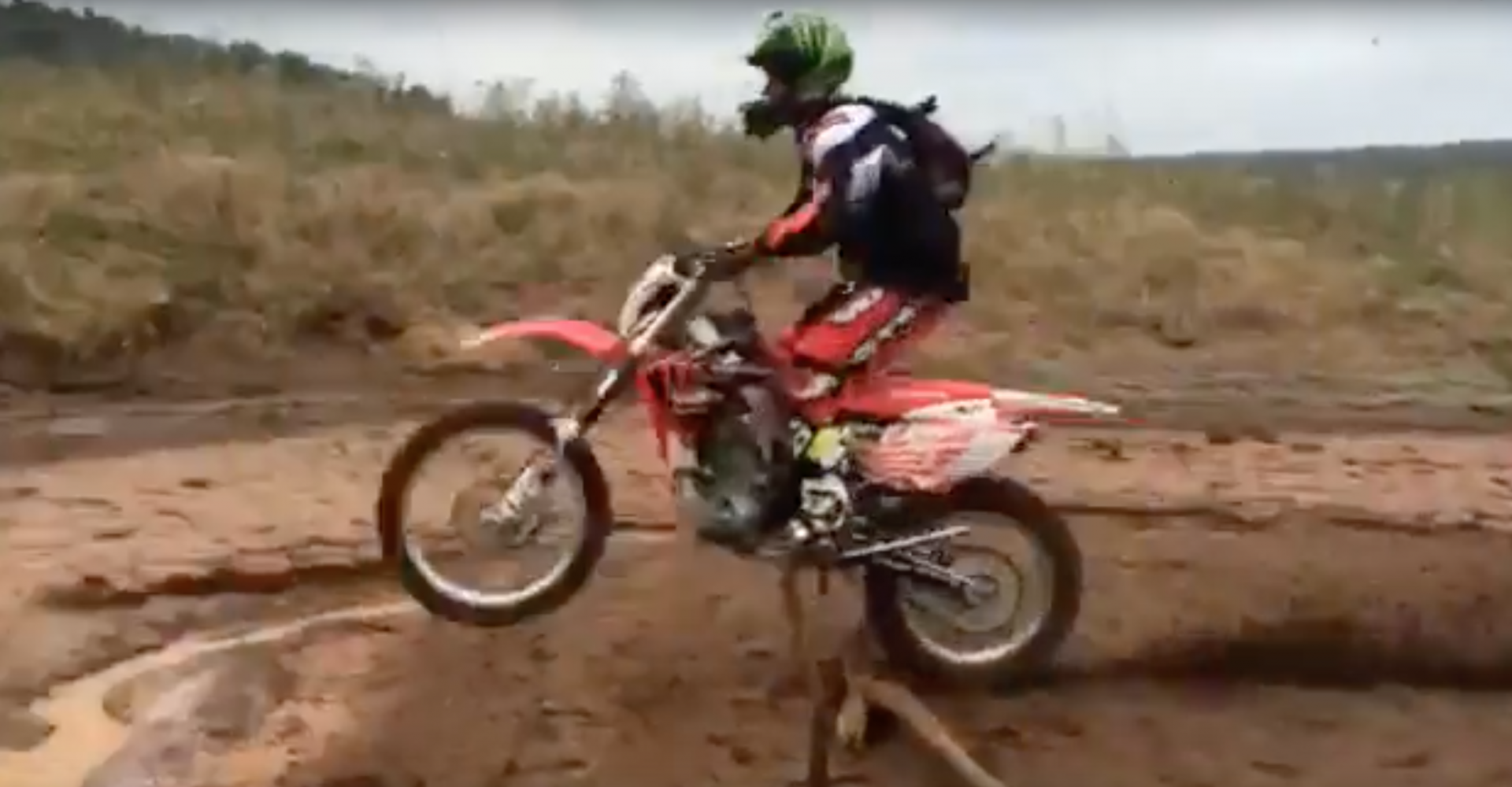 Another One Bites The Dust: Dirt Bike Rider Takes Messy Tumble In Epic Fail