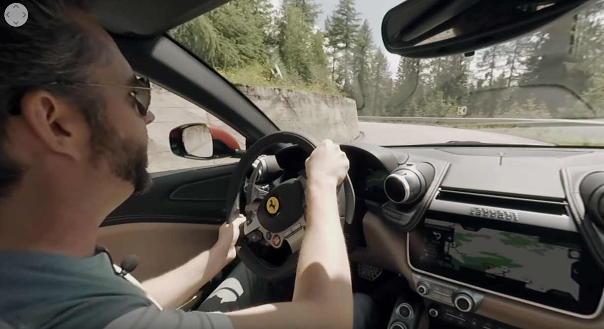 Take A 360-Degree Mountain Pass Hoon In The New Ferrari GTC4Lusso