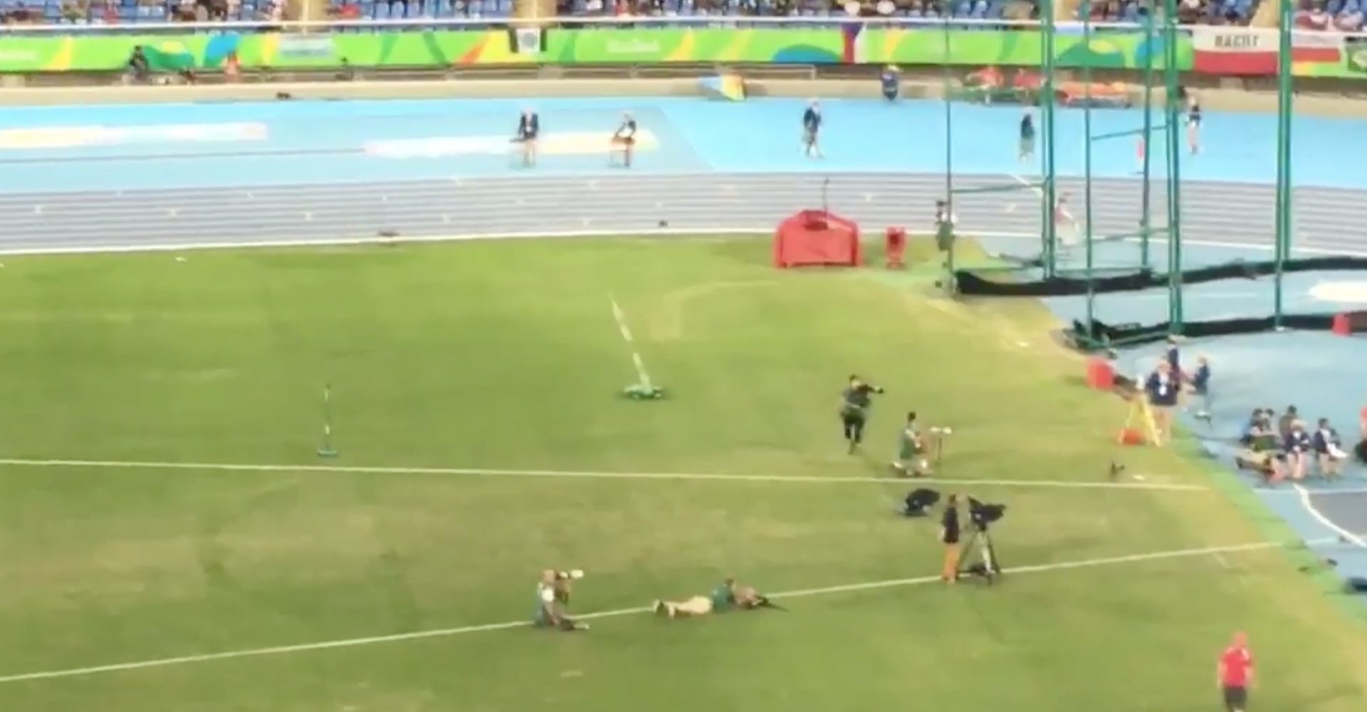 Rio's Javelin-Fetching Remote Control Cars Are Our New Olympic Heroes