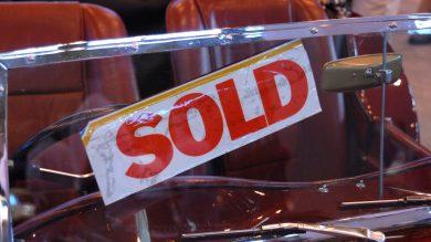 Sold sticker