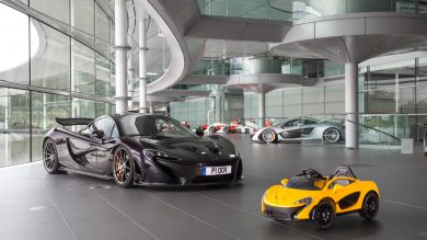 McLaren Reveals All-Electric P1… For Kids