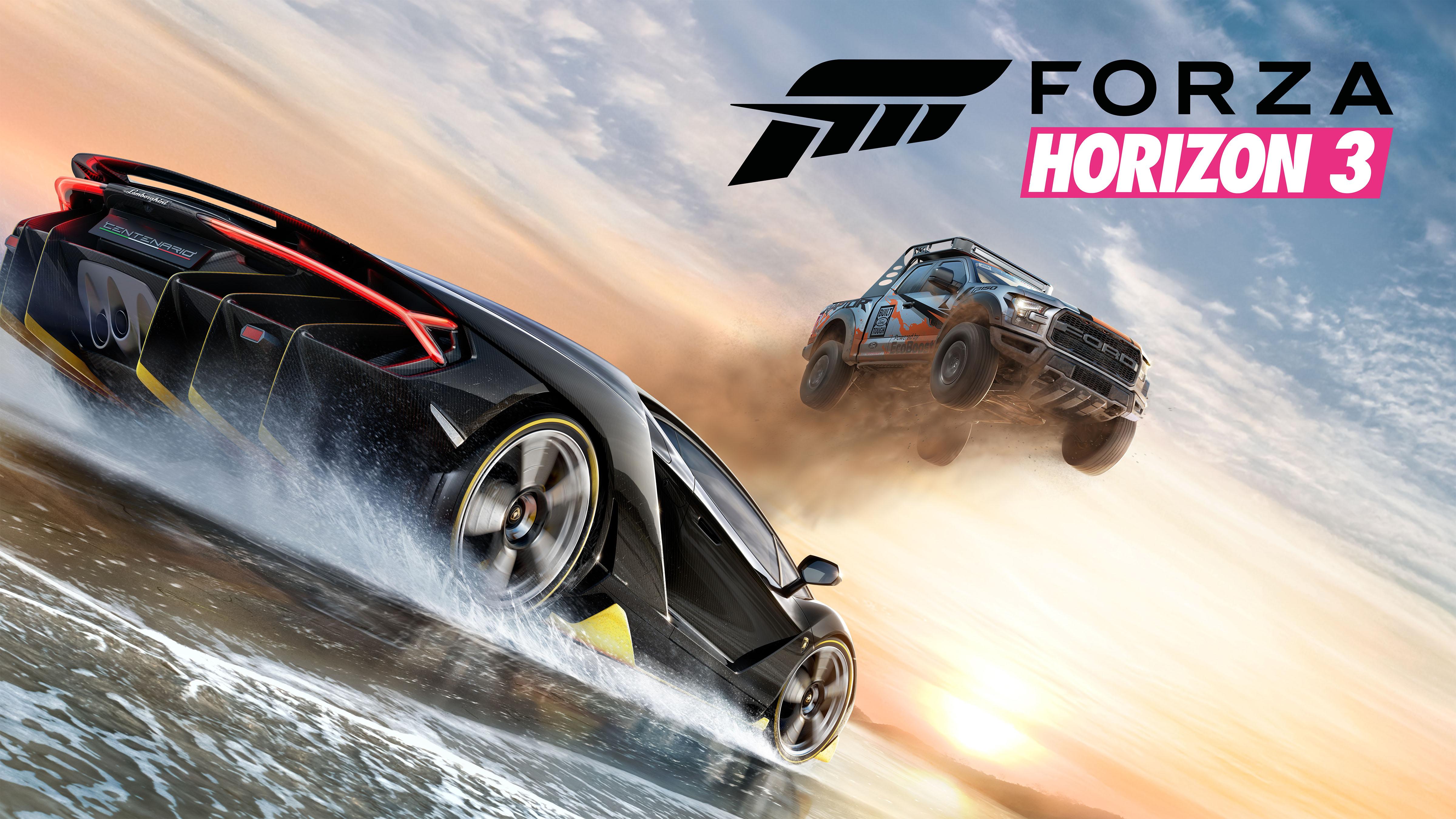 Forza Horizon 3 Horizontal Key Art