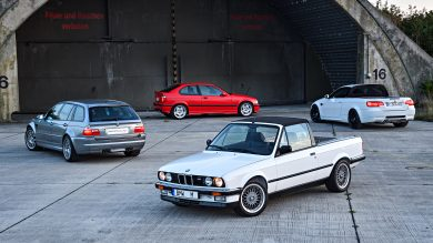 BMW Reveals Four Amazing Rare M3 Prototypes For Its 30th Birthday