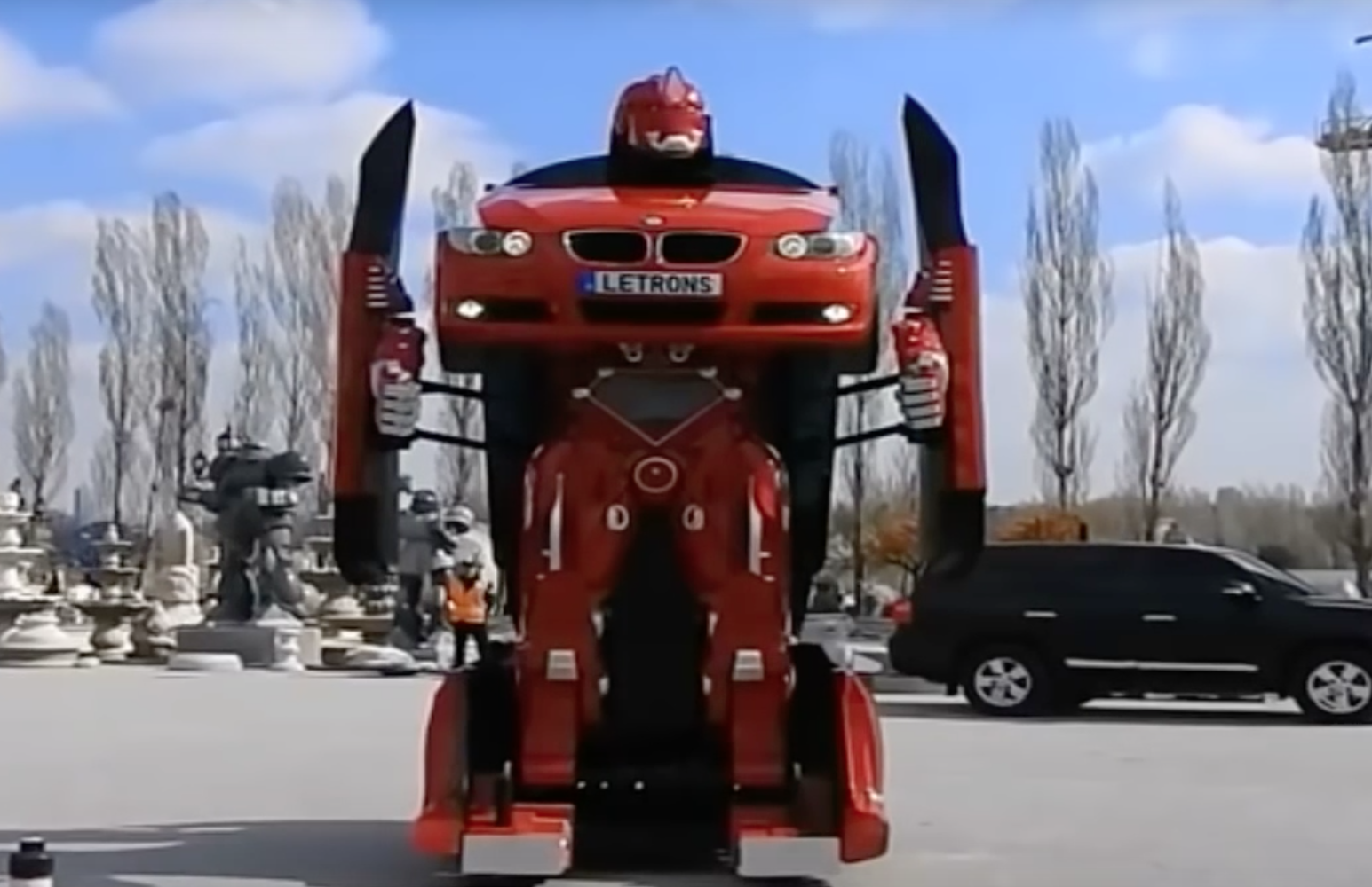 Behold! The BMW M3 Transformer!