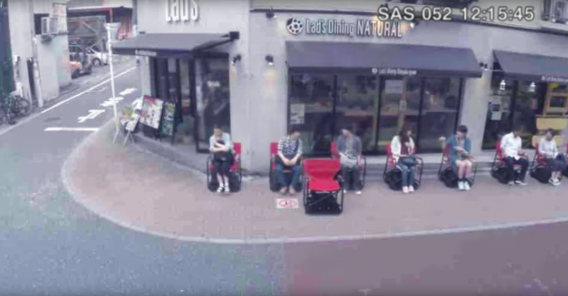 Nissan Makes A Chair That Queues By Itself