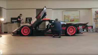 McLaren F1 GTR detailing ammo nyc