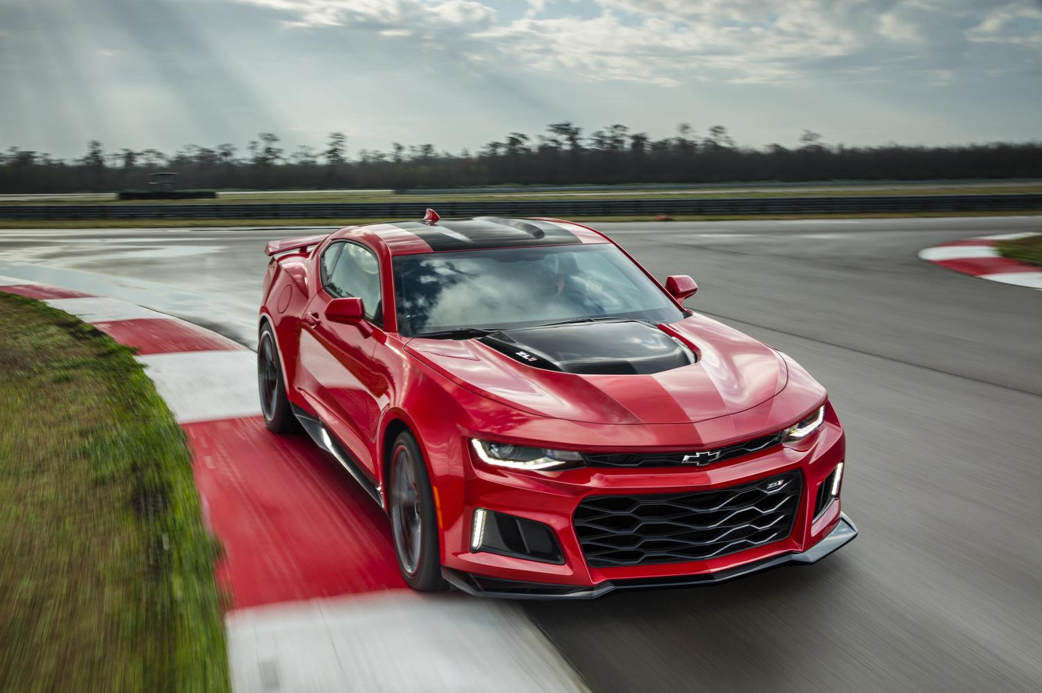 The Chevrolet Camaro ZL1 Is Faster Than Some Supercars On The Nurburgring
