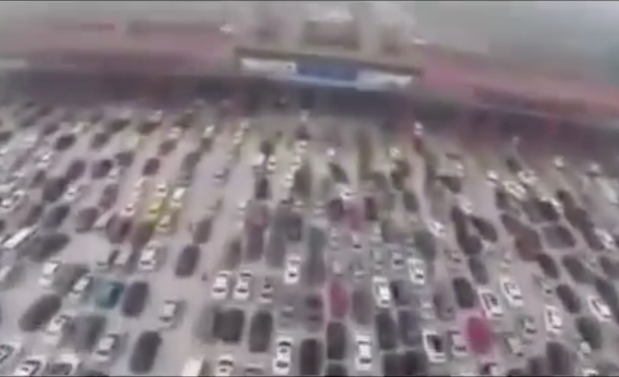 Here Are 8 Of The World's Worst Traffic Jams