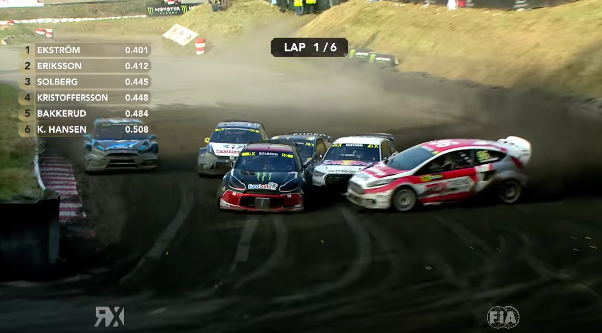 Rally Driver Pulls Off An Awesome Drifting Overtake