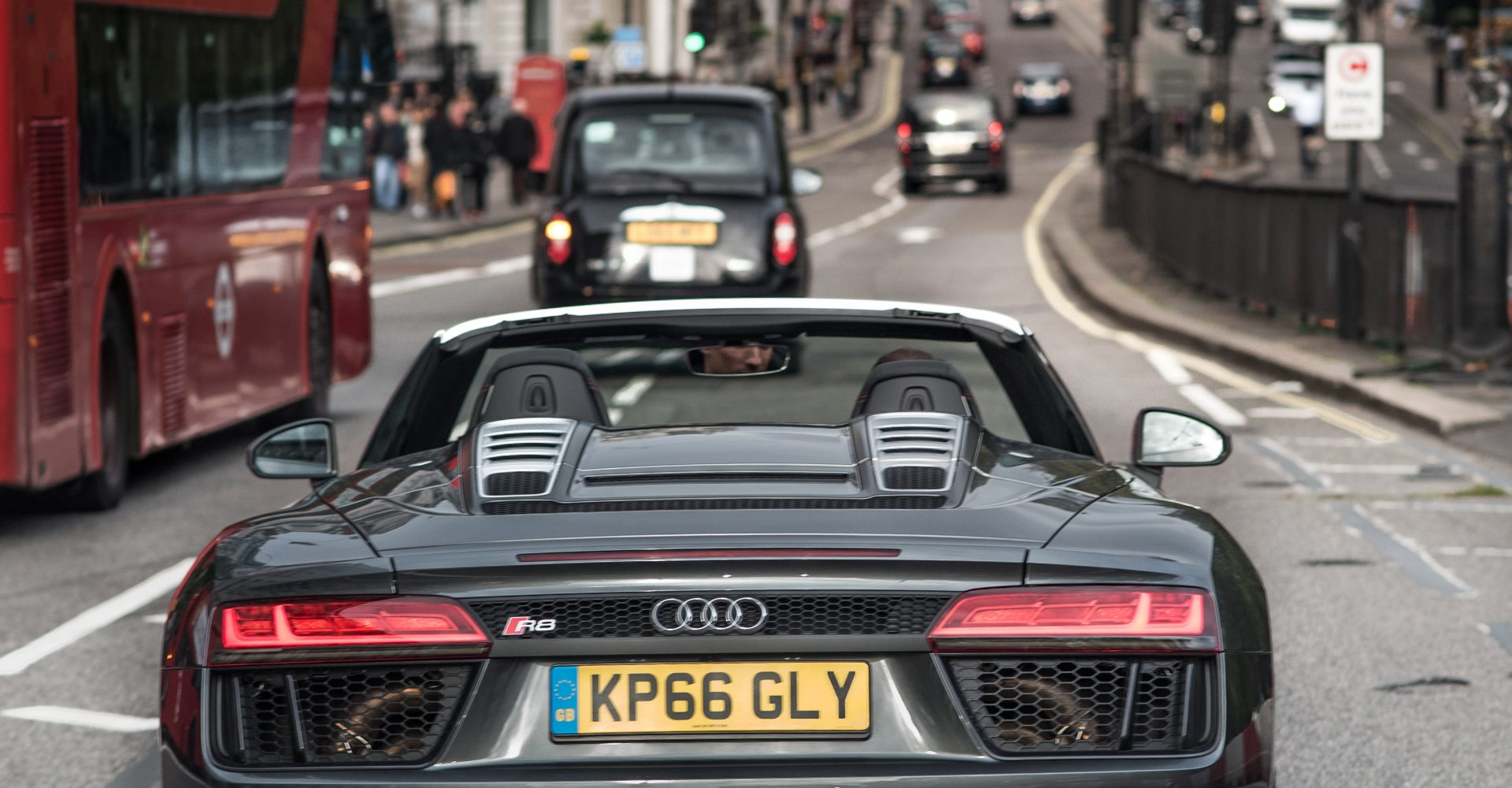 We Drove A New R8 Spyder Into Supercar-Spotting Central To See Who Papped Us
