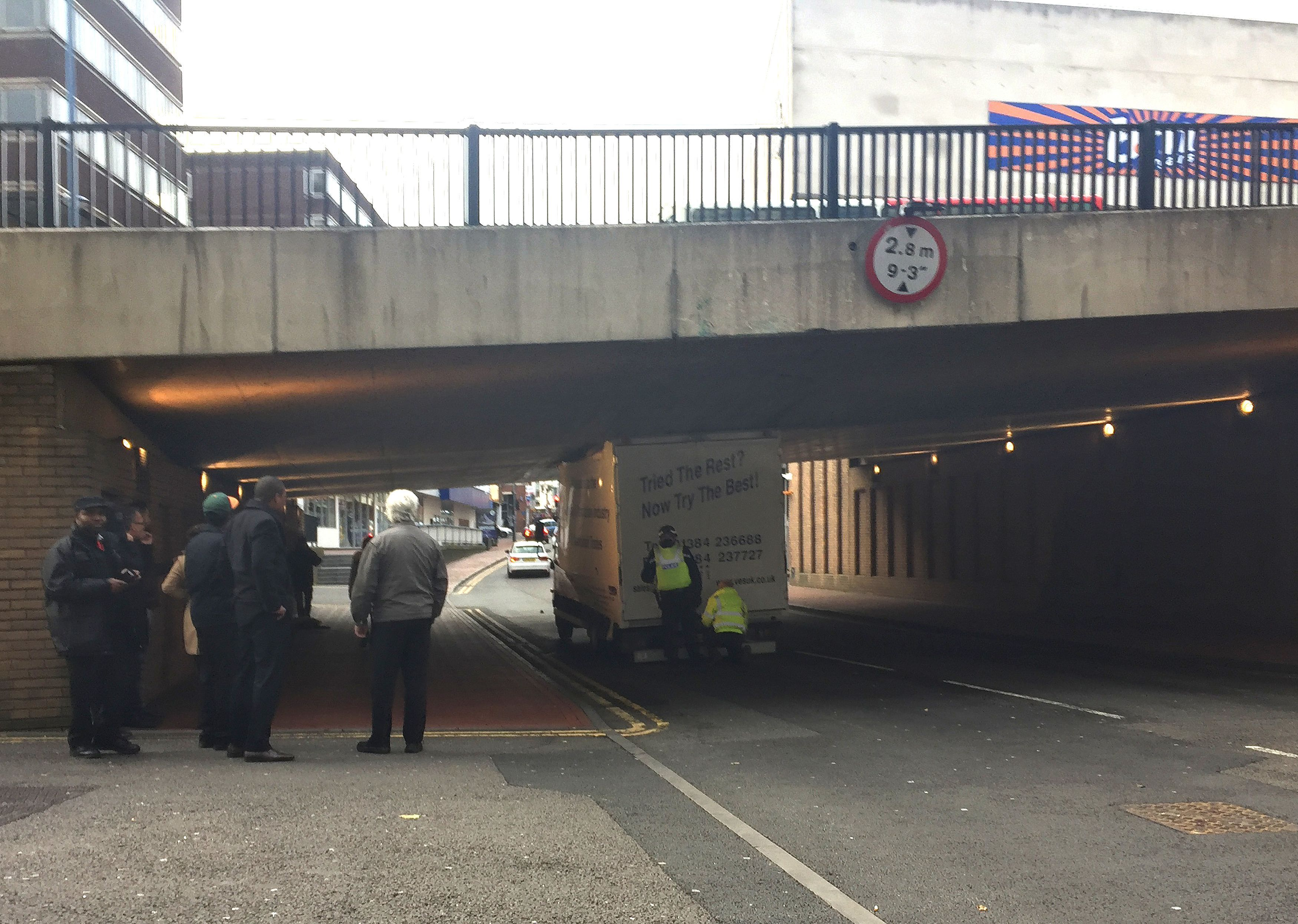 Birmingham lorry accident