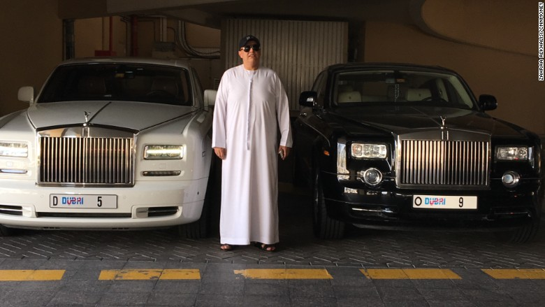 Dubai Businessman Spends Eye-Watering Amounts On Private Plates