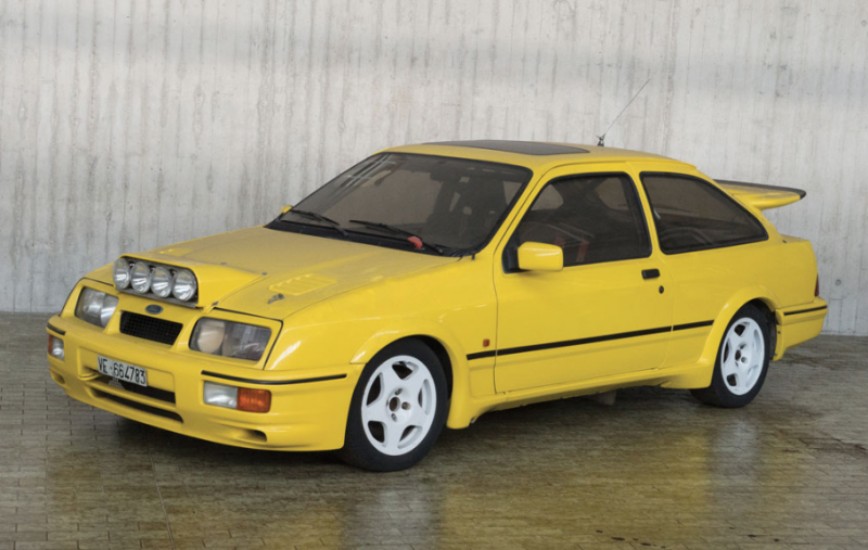 1986 Ford Sierra RS Cosworth Sotheby's Milan auction image