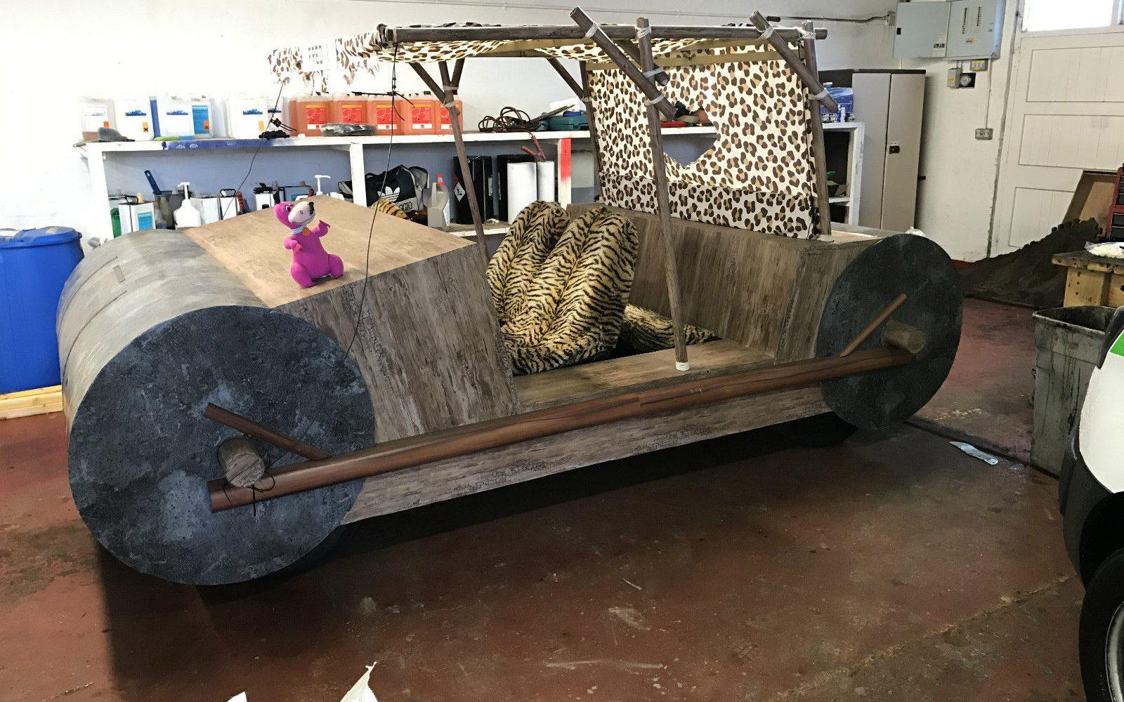 Yabba Dabba Doo Or Yabba Dabba Don't? Flintstones Replica Car For Sale On eBay