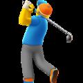 Golfer Emoji