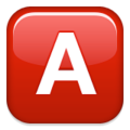 Latin A Emoji