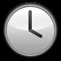 Clock Four Emoji