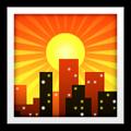 City Sunset Emoji
