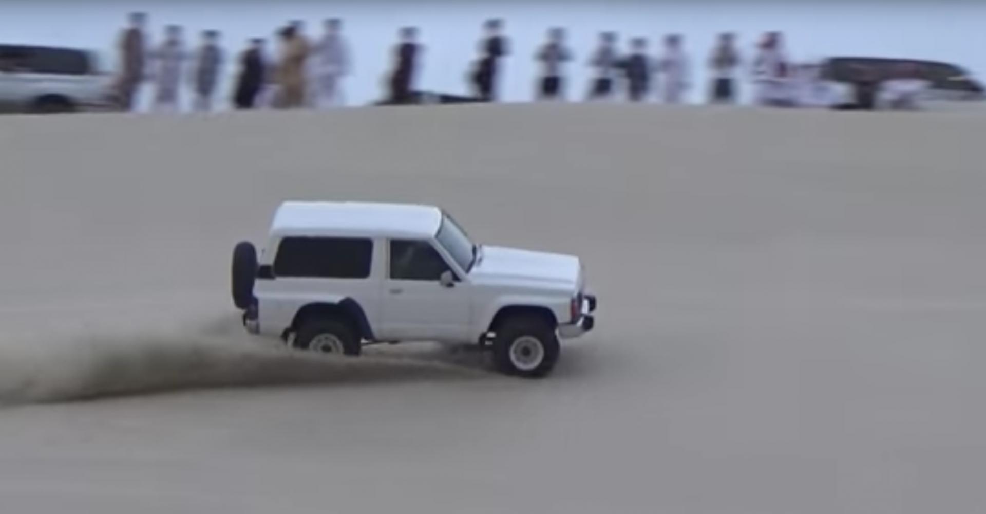 Dune Bashing Looks Like A Whole Heap Of Fun