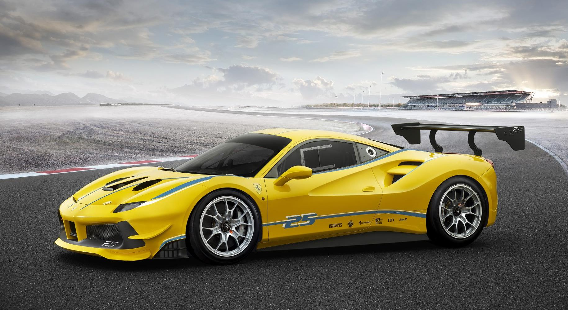 We Can't Get Enough Of The Stunning Ferrari 488 Challenge