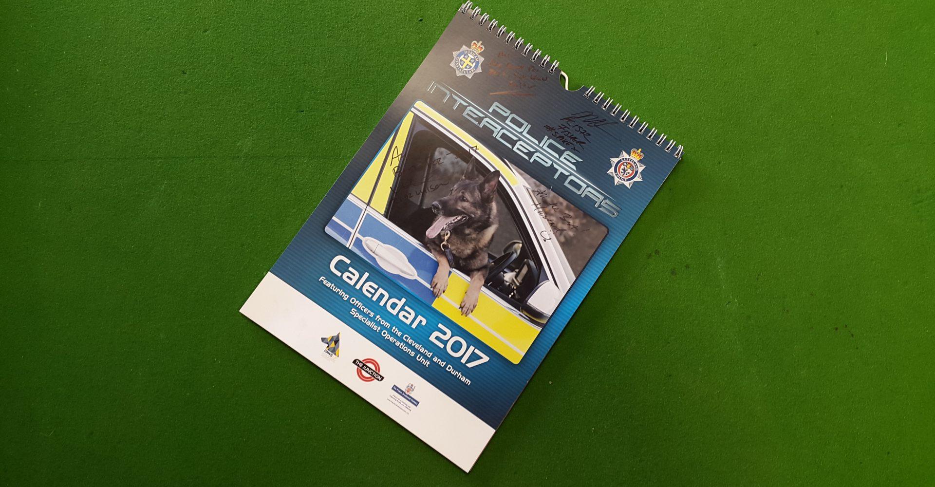 Win A Signed Police Interceptors 2017 Calendar Featuring Sergeant Kev Salter!