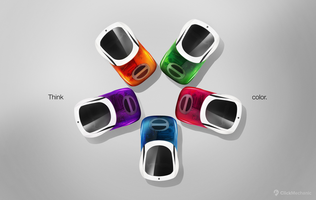 What Would Apple's Car Look Like If It Were Inspired By Its Products?