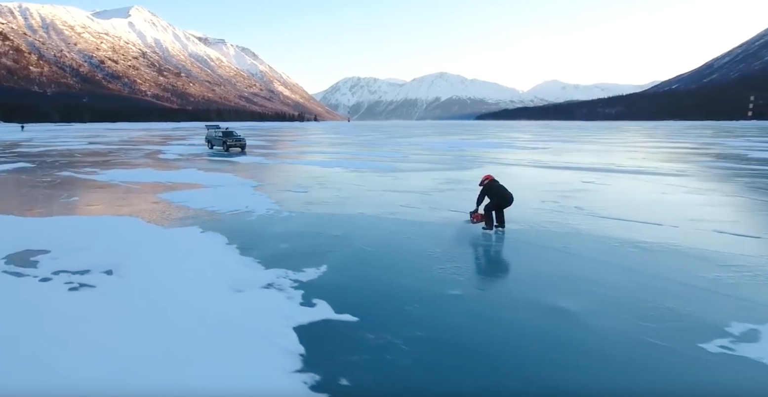 How To Get Car Out Of Frozen Ice