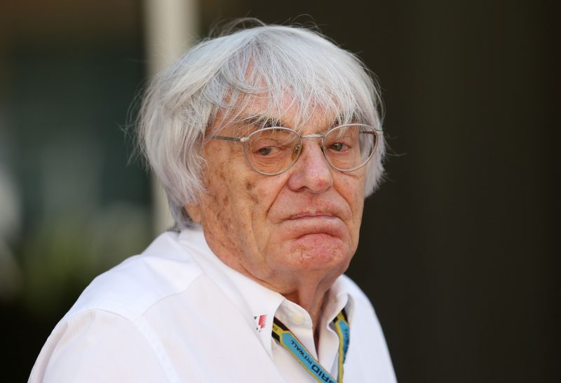Bernie Ecclestone file photo