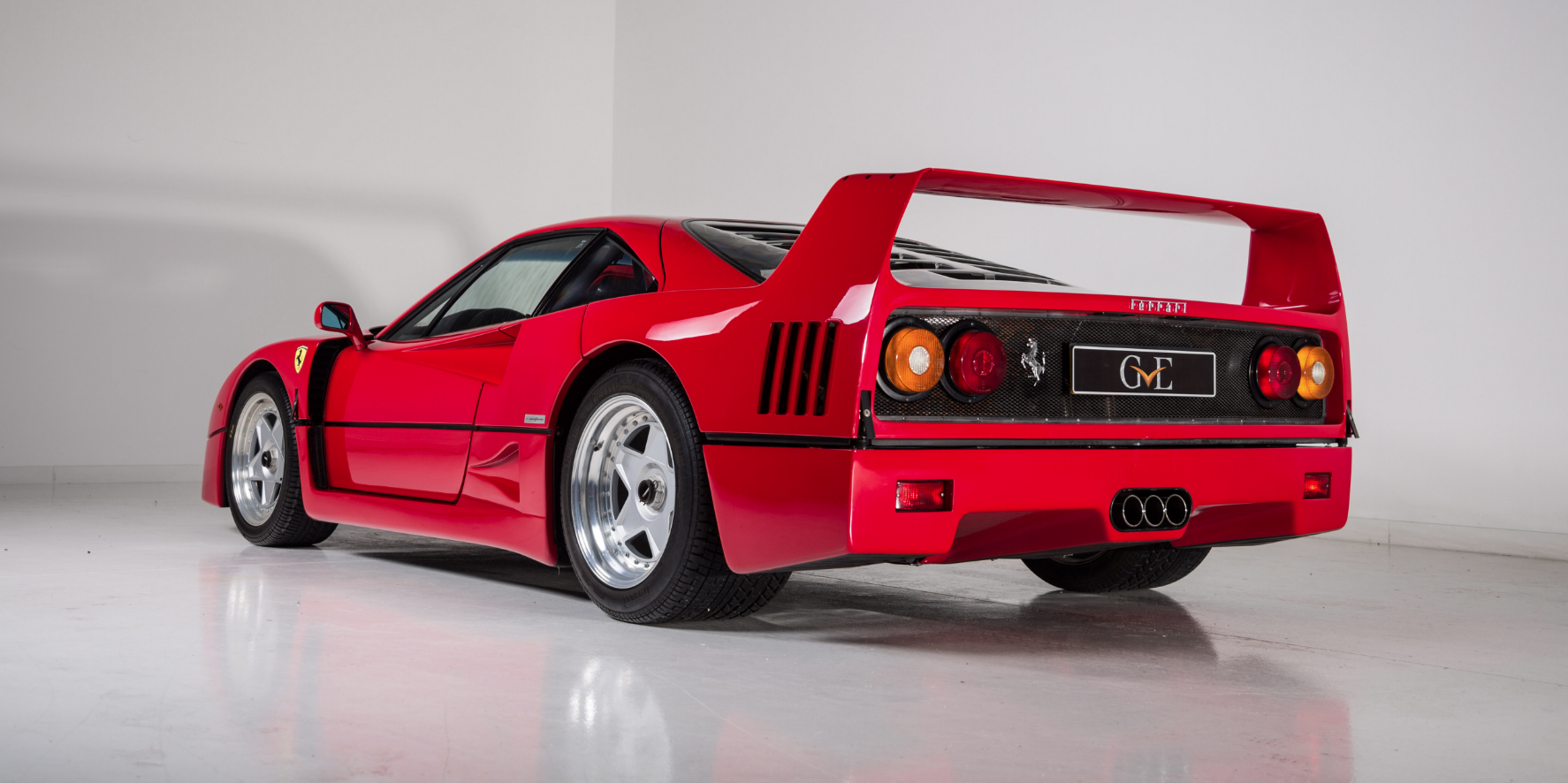 Eric Clapton's Former F40 Up For Sale At Almost A Million Pounds