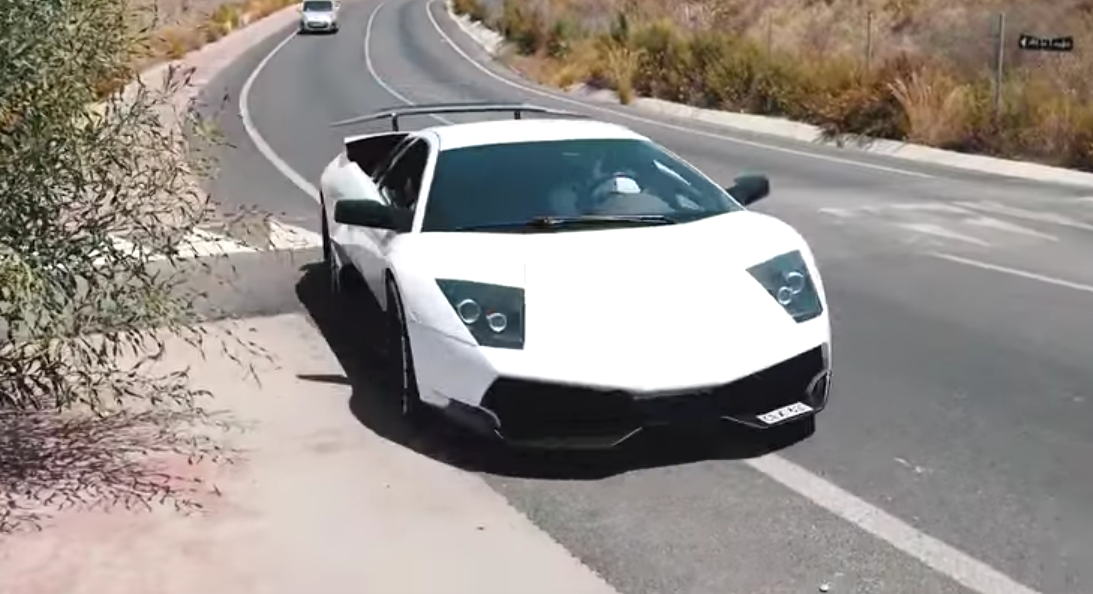 Jon Olsson's Old Murcielago Gets Smashed To Bits