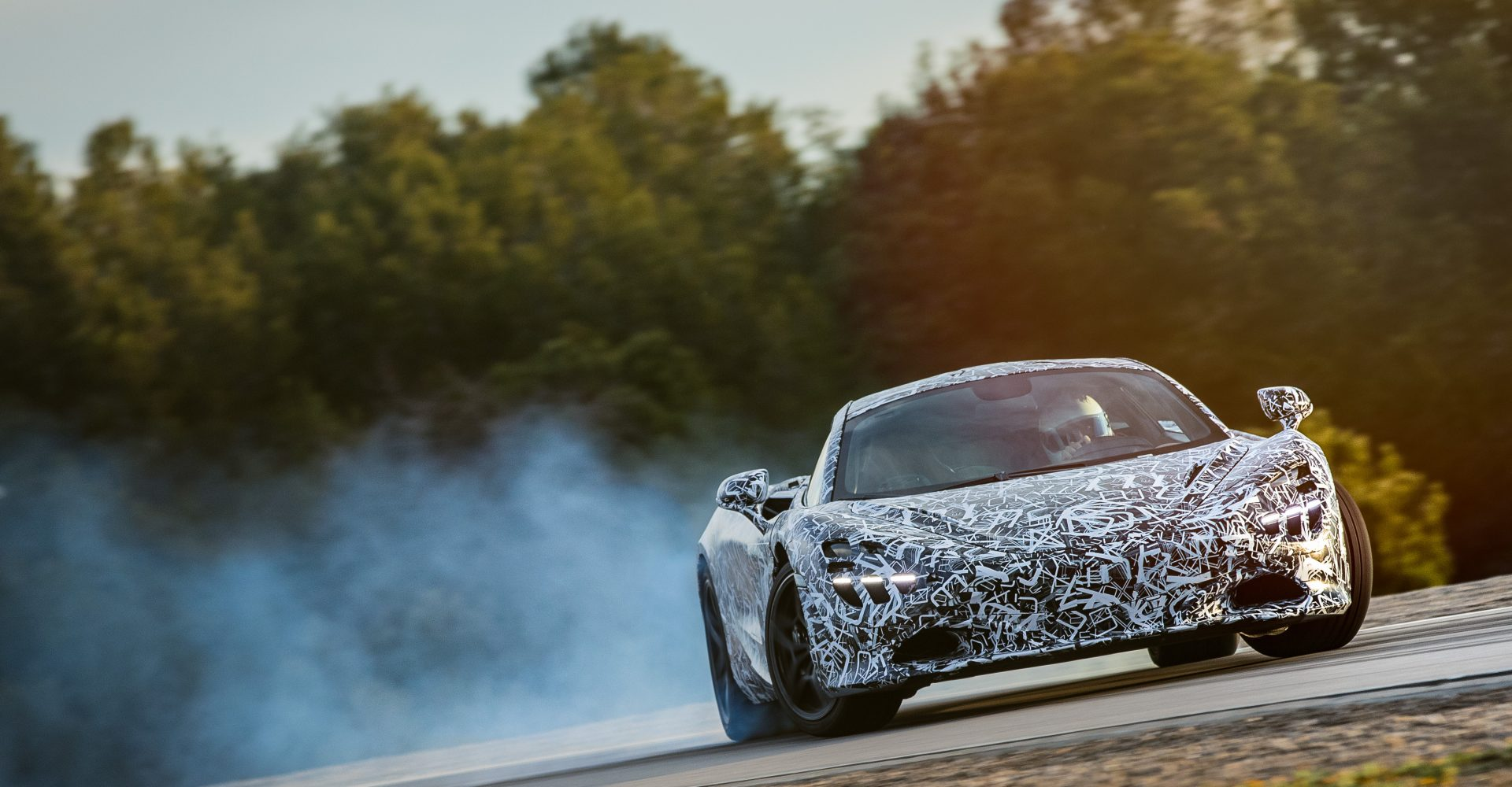 Here's McLaren's Next Supercar On Track