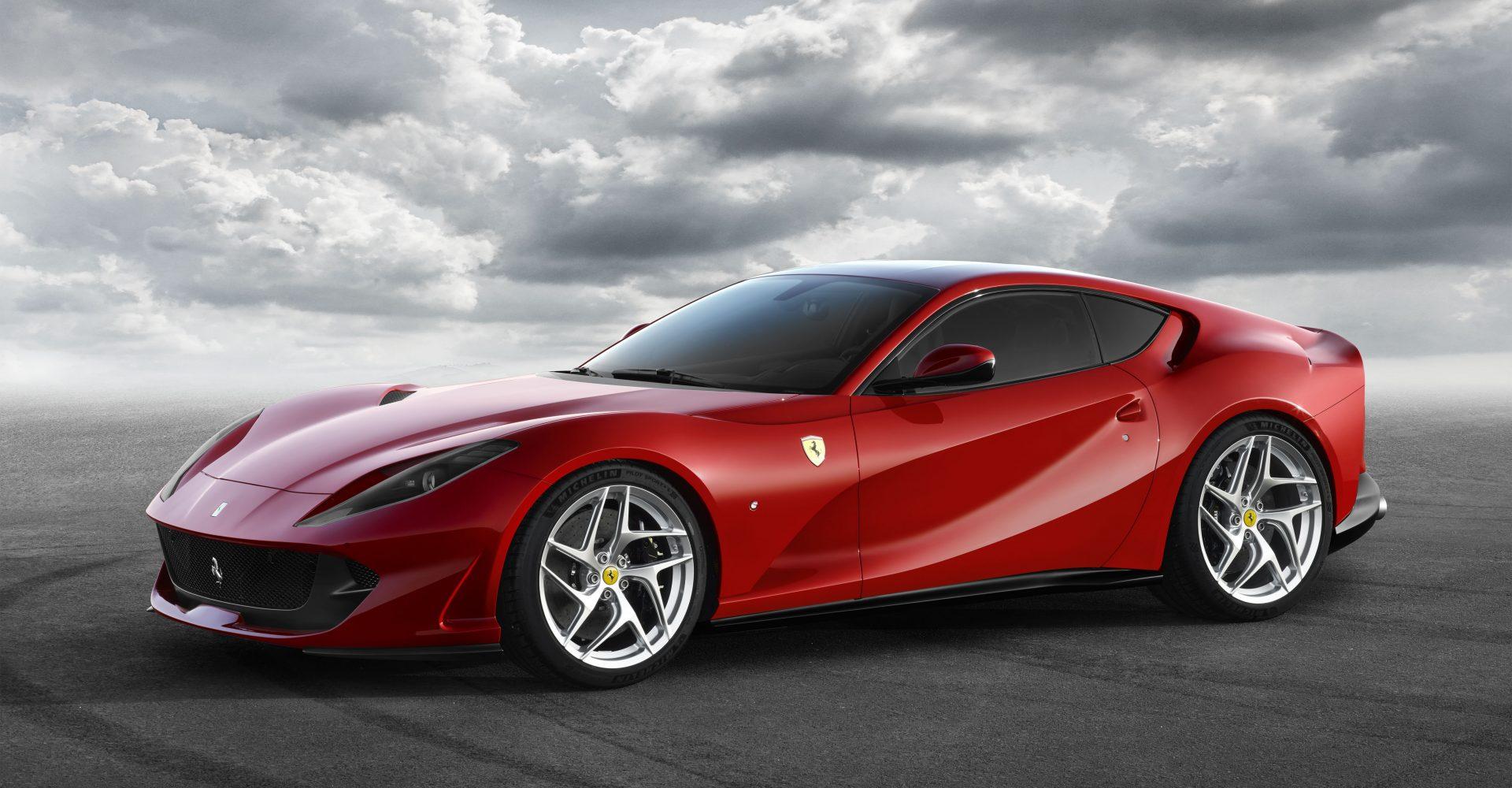 Ferrari Unveils 812 Superfast Ahead Of Geneva Motor Show