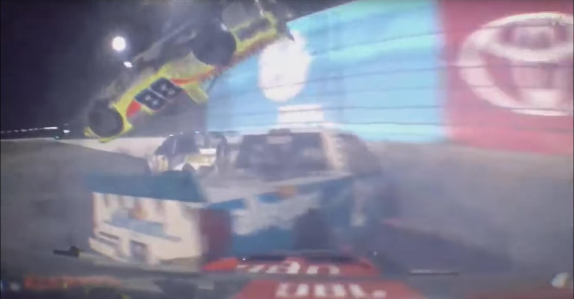 Everyone Escapes Unhurt From This Crazy NASCAR Truck Crash
