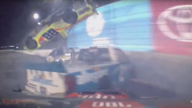 NASCAR truck crash Daytona