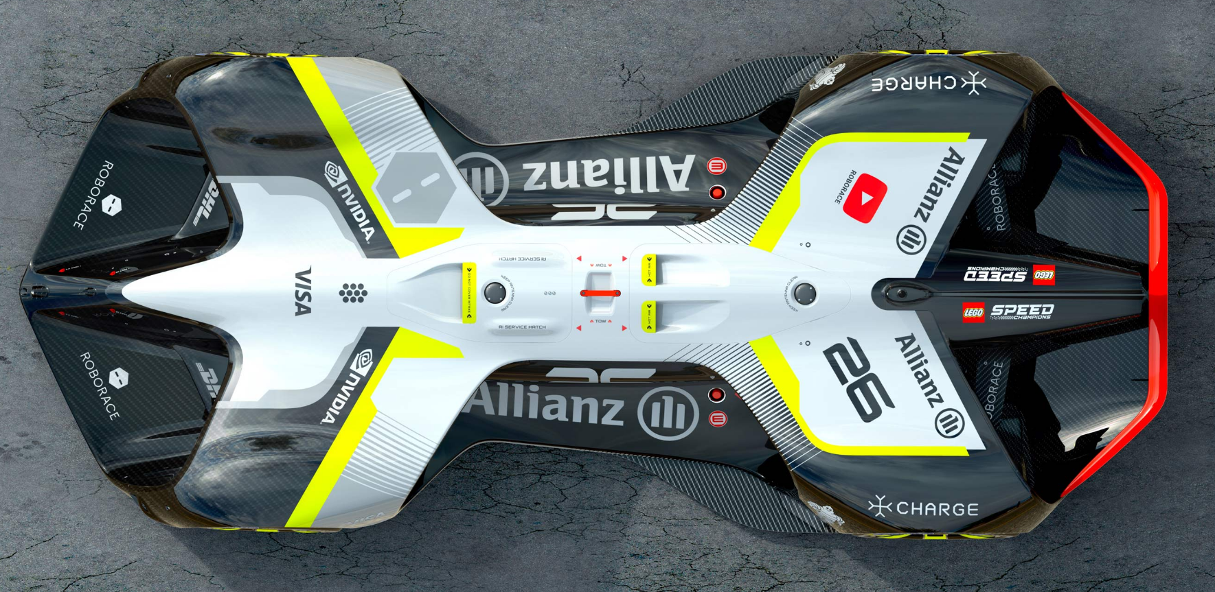 Roborace Reveals Details Of The Robocar