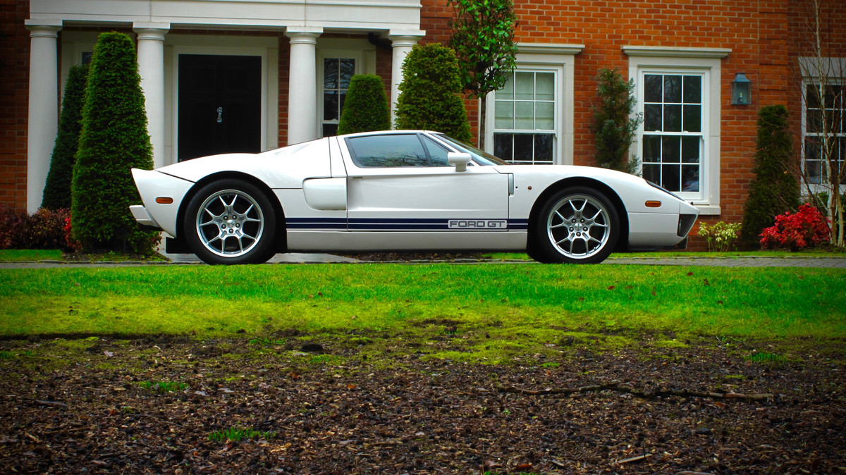 Button's Ford GT Is Going Under The Hammer