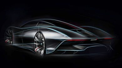McLaren Unveils Concept Drawing Of New Hypercar