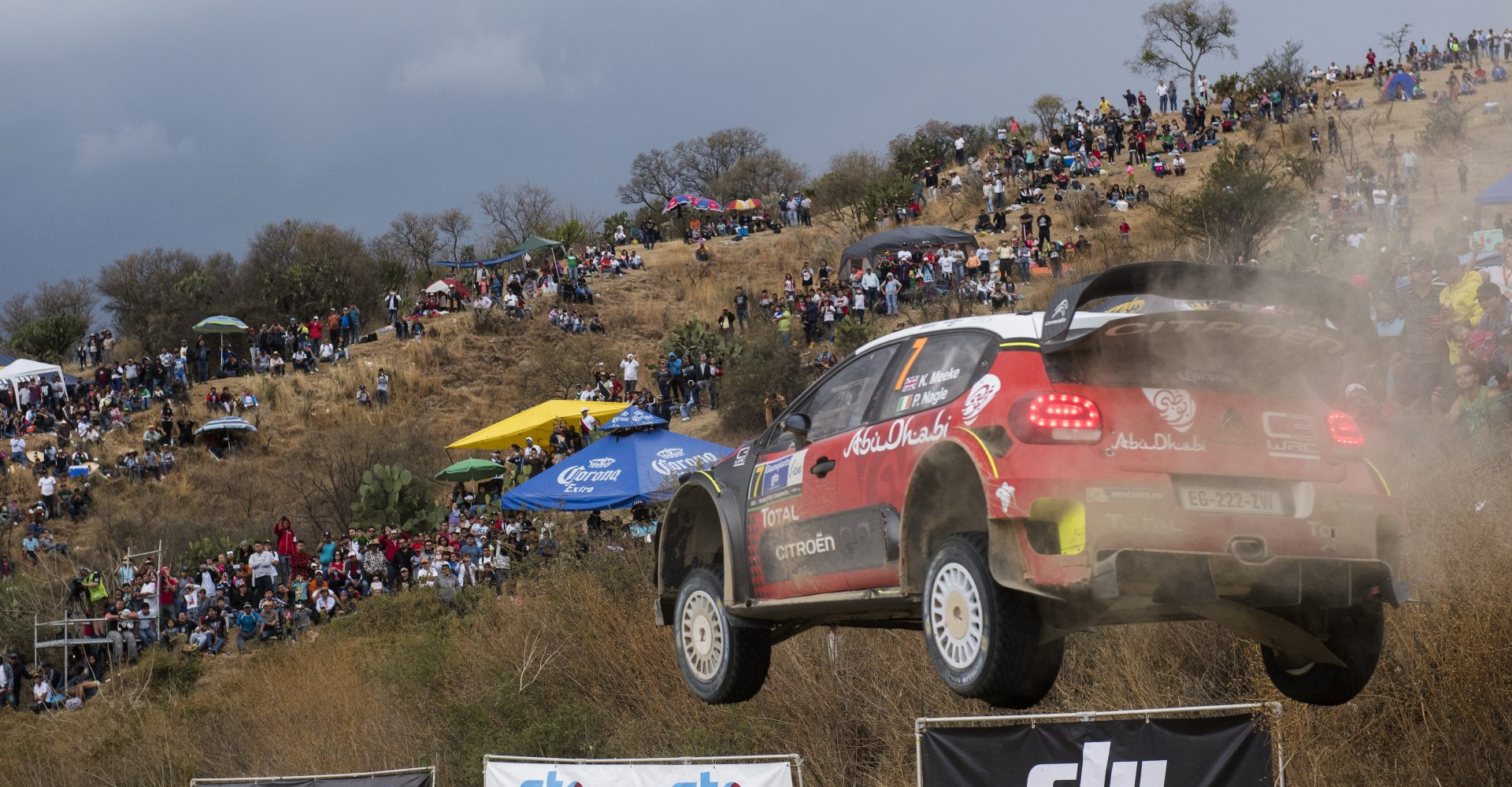 Eeek! Meeke's Dramatic Climax To Mexico Rally Makes Citroen Fans Sweat