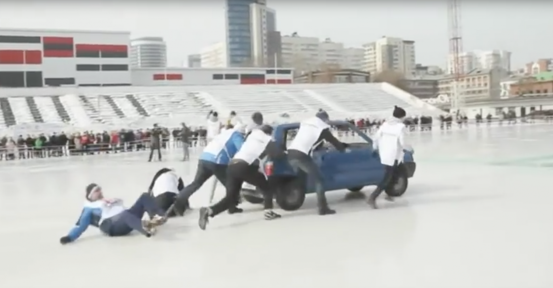 Car Curling Really Needs To Be In The Winter Olympics